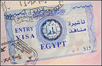 Для россиян отменили визу в Египет