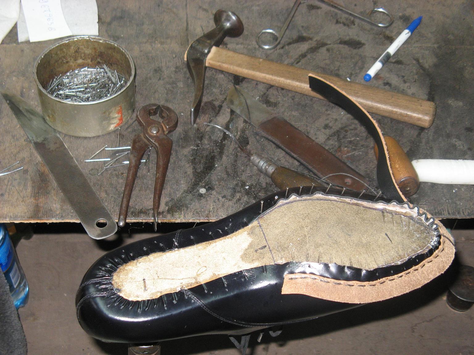 Изготовление обуви своими руками